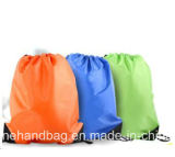 Sac en nylon promotionnel d'emballage de la coutume 210d/cordon de sports