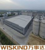 Costruzione d'acciaio prefabbricata della costruzione del metallo con la trave di acciaio