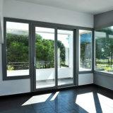 Portes coulissantes modernes expulsées de bâti en aluminium intérieures