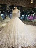 Luz Aolanes Suite Ampla Champanhe vestido de casamento