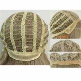 Maschinell hergestellte synthetische Haar Omber Menschenhaar-Perücke