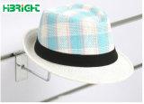 Wire Mesh Présentoir en métal utilisation de supermarché Hat crochets