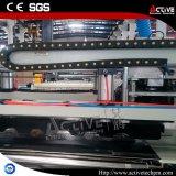 艶をかけられたPVCタイルの放出機械