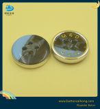 Kundenspezifisches Firmenzeichen-Silk Druck-Nickelplattierung-Laser-Hemd-glänzende Plastiktaste