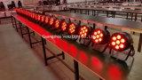 La IGUALDAD de Vello LED 6in1 Rgbwauv puede efectuar la luz (duende ColorPar7 del LED)