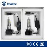 Faros del coche LED de las piezas de los accesorios autos de la luz de niebla de la lámpara de la pista del bulbo de las linternas de la viga H7car LED de la linterna H4 35W 7000lm del LED Hola-Lo 12V