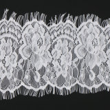 Tessuto di tessile del merletto del voile del tessuto del merletto del cavo