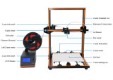 Anet E12 형식 디자인을%s 가진 지능적인 LCD 접촉 0.1mm 정밀도 3D 인쇄 기계