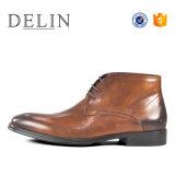 Les hommes à chaud des bottes en cuir chaussures formelle Fashion