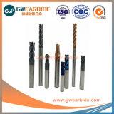 1,0X3X50 HRC 3 dents carbure de tungstène45-50 fin Mill