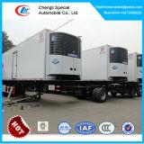 3 Wellen-Kühlraum-halb Schlussteil, 40 Fuß RefrigeratorCooling Van Box Trailer für Verkauf