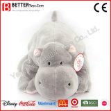 De zachte Knuffel vulde het Dierlijke Speelgoed van Hippo van de Pluche voor de Jonge geitjes van de Baby