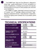 """Heiße Verkaufs-Zeile Reihe --Vt4889 verdoppeln 15 """" Zeile Reihen-Lautsprecher (2700W), PROlautsprecher"""
