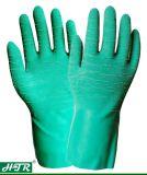 Латекс резиновые химического устойчив против скольжения хлопка гильзы рабочие перчатки