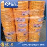 Boyau spiralé d'irrigation renforcé par plastique de débit industriel de pipe de fil d'acier de PVC