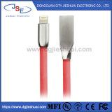 Mfi certifié de l'éclairage plat en alliage de zinc à l'USB Câble Cordon de charge rapide de l'iPhone pour iPhone X/8/8 Plus