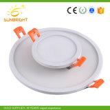La CE aprobó RoHS Lámpara de LED blanco cálido de montaje en superficie de la luz de techo