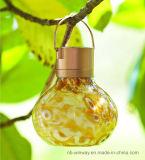 Lantaarn van de Lava van het Glas van het weer de Zonne