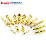 Прекрасного качества Precision Spindly латунные контактные штифты в Китае на заводе