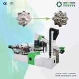 Film di materia plastica che ricicla macchina/che granula
