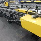 Máquina de perfuração e de marcação do aço em barra liso