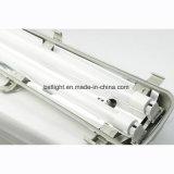 中国の製造者1200の2X18W ABSハウジングのパソコンの拡散器IP65の三証拠屋外LEDの照明