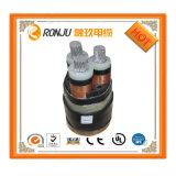 Câble d'alimentation plat plat de 3 faisceaux des techniques 0.75mm2 de câble d'approvisionnement direct d'usine