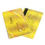 Cartes faites sur commande de fidélité de PVC VIP de plastique d'impression de vente chaude, carte de visite professionnelle de visite, carte d'identification