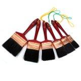 Heißer Verkauf lackiertes hölzernes Griff-Lack-Pinsel-Set mit hängendem Seil