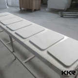 Surface solide/ Salle de bains en pierre de la vanité de quartz haut de page