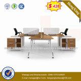 Bureau moderne de boîtier de meubles de bureau de noix (HX-8N3029)