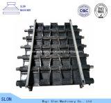 Fabricante de sapata elevado da trilha do manganês para a maquinaria de construção