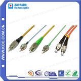 Cordon de raccordement à fibre optique pour connexion à fibre optique