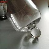 Kaars van de Kruik van het Deksel van de Koepel van het glas de Zilveren voor High-End Markt