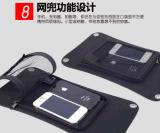original solar portátil elástico macio flexível Foldable da fábrica do ISO do carregador de pano do painel de potência do telefone móvel de 6W Sunpower