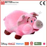 Personnaliser les jouets en peluche animal en peluche doux pour cadeau de cochon