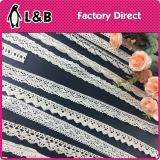 고품질 새로운 디자인 면 크로셰 뜨개질 레이스