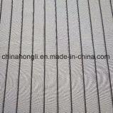 Gris&rayure noire spandex polyester Tissu pour vêtement