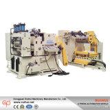 ストレートナのUncoiler 1台の機械に付き3台にあるせん断機械(MAC4-800H)が