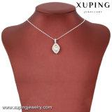 43213 Xuping Heart-Shaped colgante, collar de cristales de Swarovski colgante de Fox de novia