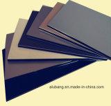 Capa compuesta de aluminio material del PE PVDF del panel de Walil Bulding de la cortina