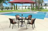 Rattan esterno/giardino/Patio//Tabella di alluminio HS6076dt
