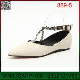 shoes 새로운 디자인 편평한 교차하는 단 하나 숙녀