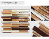 Плитка Brown горячей прокладки сбывания лоснистой скачками стеклянная для стены/Backsplash