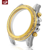 Acier inoxydable de galvanoplastie personnalisé de diamant usinant la pièce de commande numérique par ordinateur pour la montre