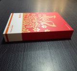 [روس] نوع ذهب حارّ يختم عادة علامة تجاريّة سنة جديدة [جفت بوإكس] مع نوع ذهب بطاقة ورقة طباعة