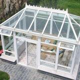Sunroom en verre isolant de bonne qualité avec la porte de pliage en aluminium