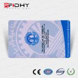 L'hologramme de l'impression papier RFID MIFARE carte pour le paiement de billets