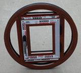 Qualité Windows rond en aluminium (BHA-CWA33)