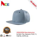 Шлемы Snapback кожаный кроны PU изготовленный на заказ пустые с отверстиями металла